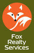 Logo of an abstract fox in a circle